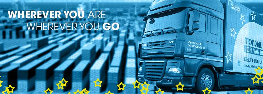 Slider vrachtwagen